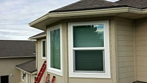 New windows being installed in a Boise, ID area home.