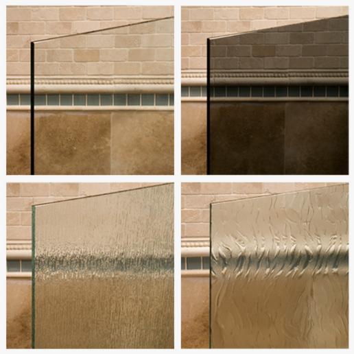 Agalite Glass Shower Door Types