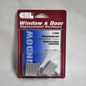 CRL sliding window lock (Silver)