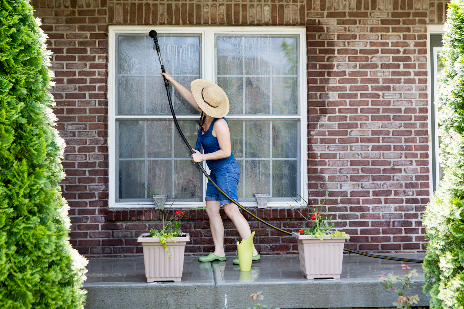 spring cleaning window maintenance